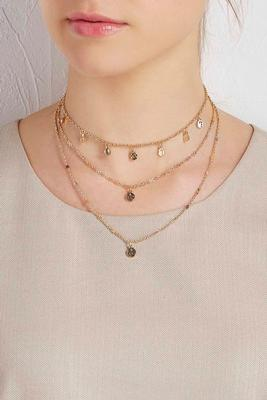 shaky disc layered choker