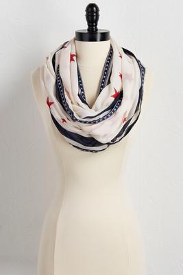star spangled infinity scarf