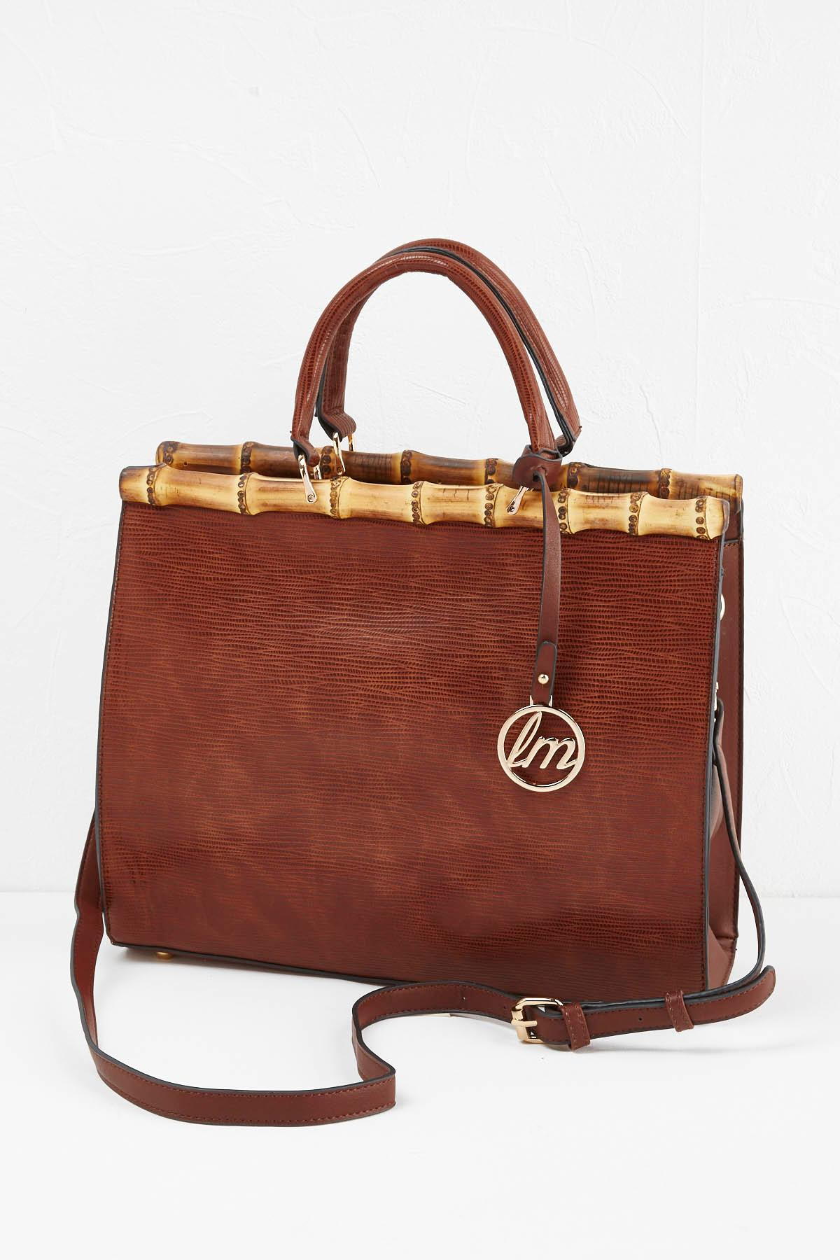 Bamboo Textured Tote
