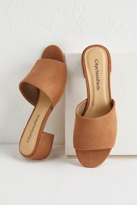 peep toe mules
