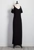 Bare Shoulder Maxi Dress