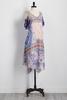 Floral Hanky Hem Dress