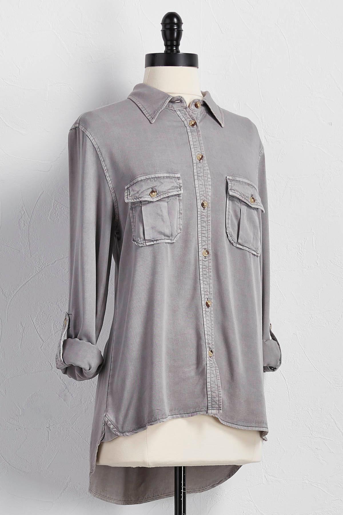 Button Down Utility Shirt