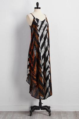 tribal trapeze jumpsuit