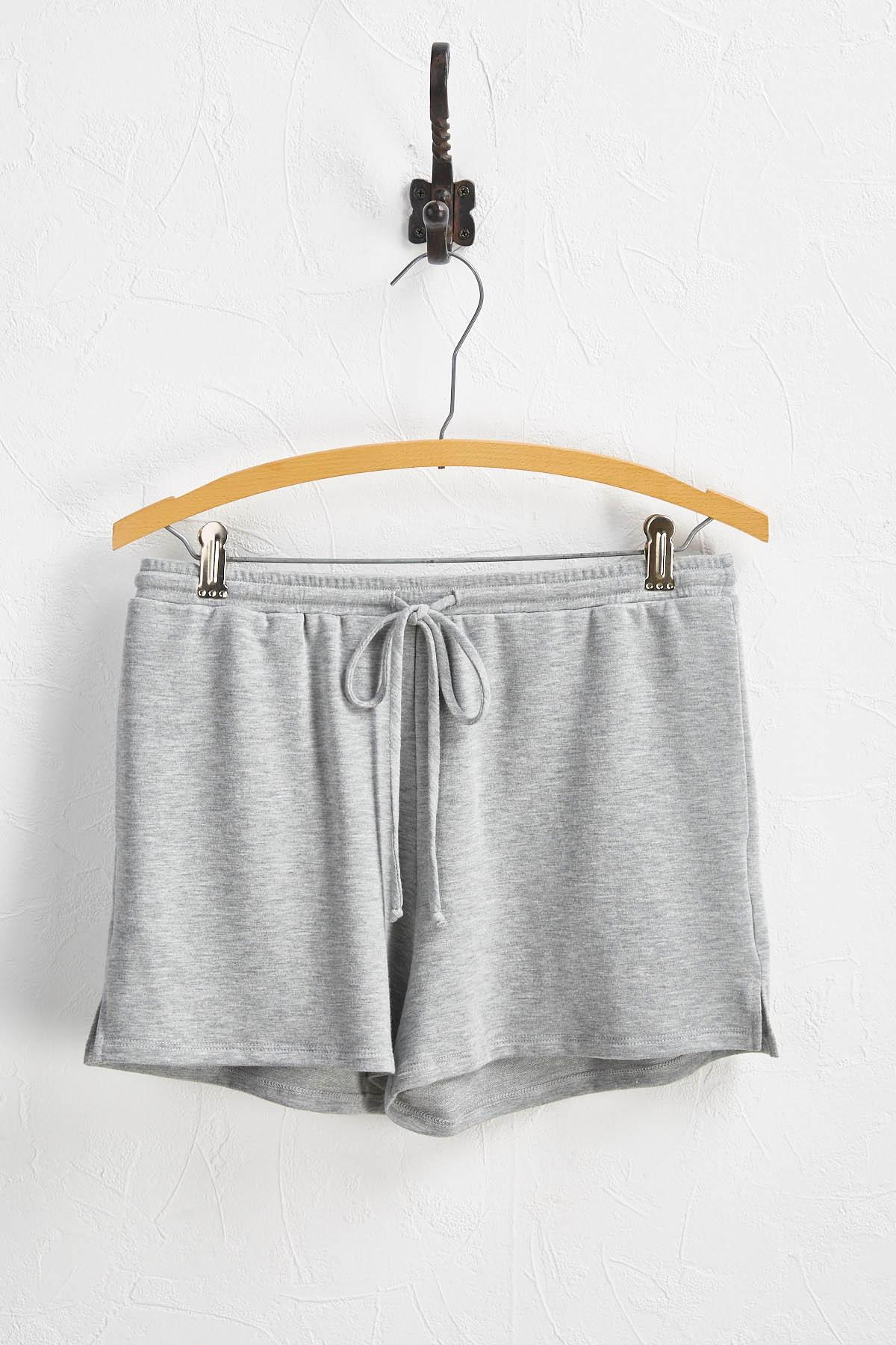 Drawstring Athleisure Shorts