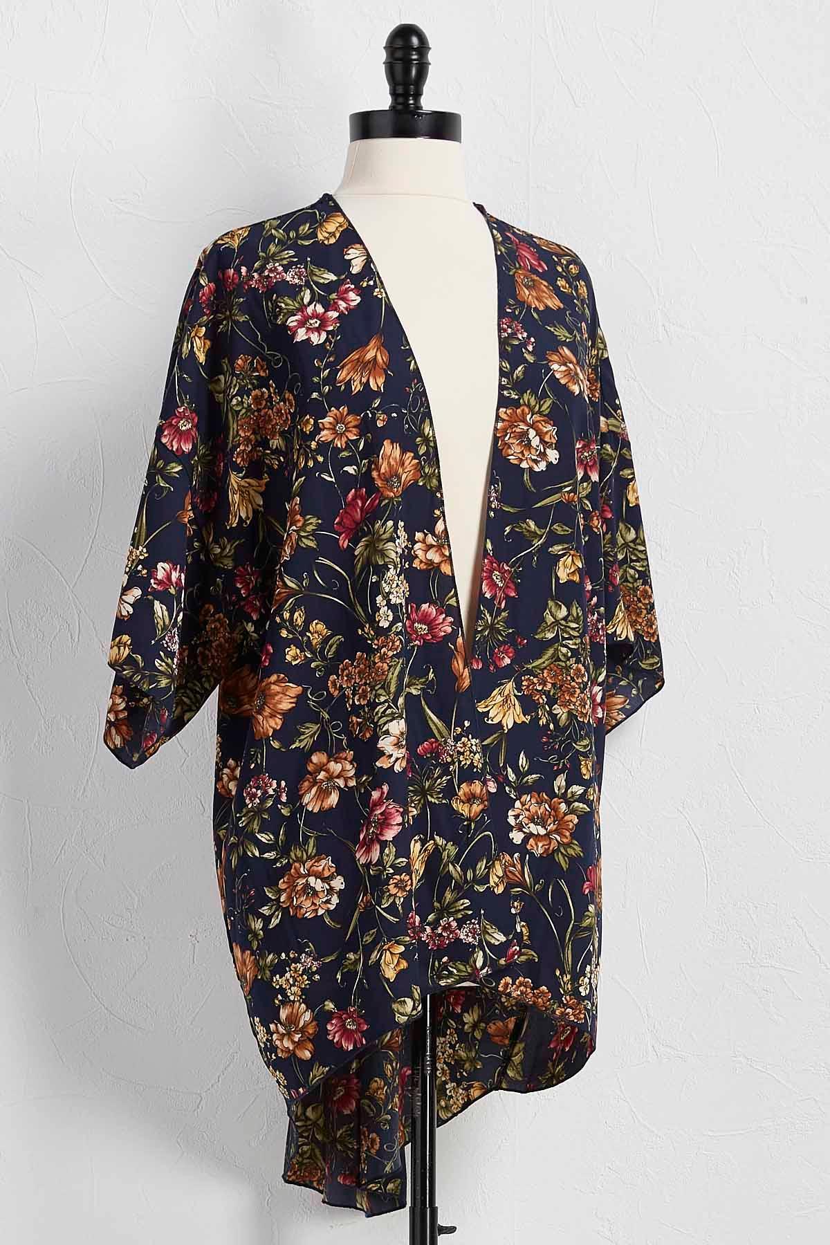 Джемпер кимоно