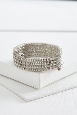 mesh coil bracelet