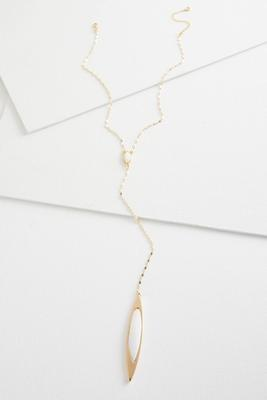 shell pendant y-necklace