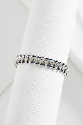 embellished rope bracelet