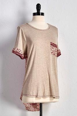 mixed floral bandana top