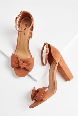 Bow Heeled Sandal