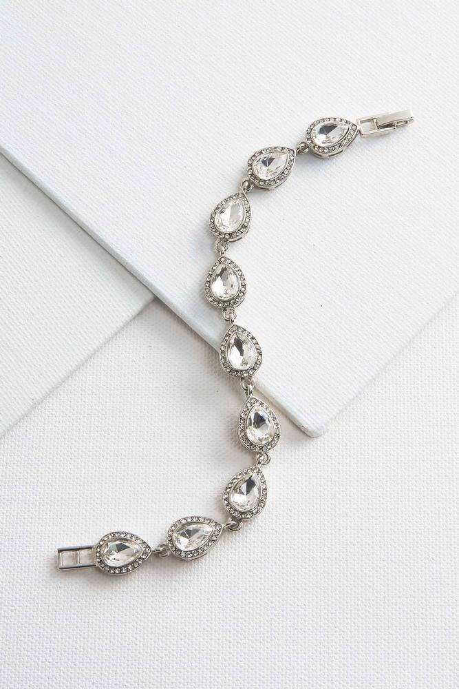 Oval Glass Bracelet