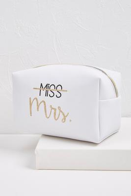 miss mrs zip pouch