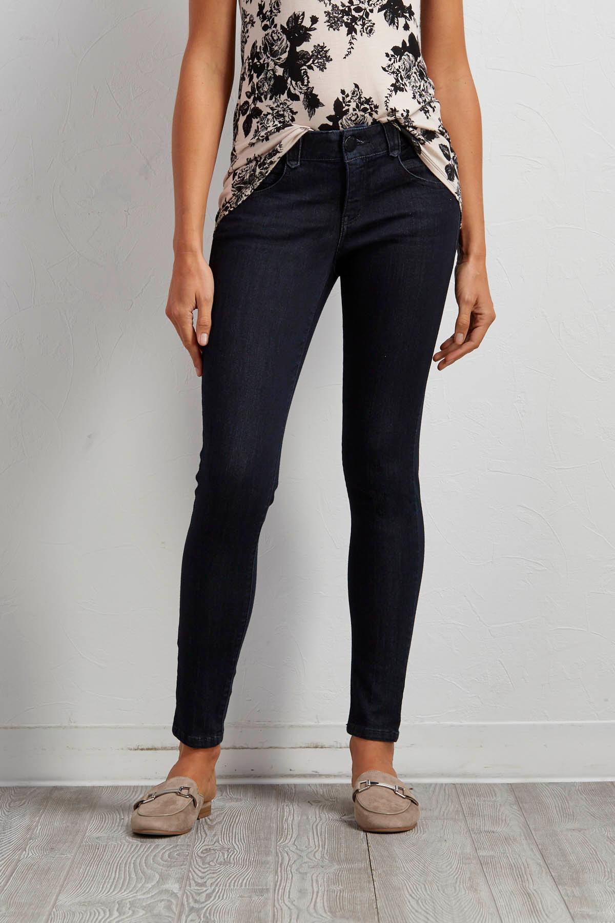 Dark Wash Stretch Skinny Jeans