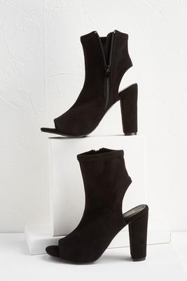 stretch cutout shooties