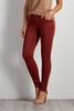 Twill Ankle Skinny Pants