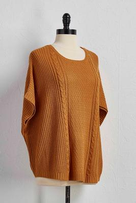 cable pullover sweater