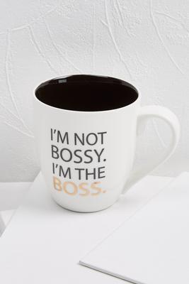 bossy boss mug