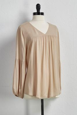 bell sleeve poet top
