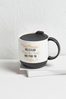 hallelujah lid mug