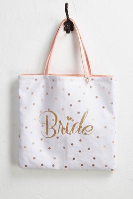 reversible bridal tote