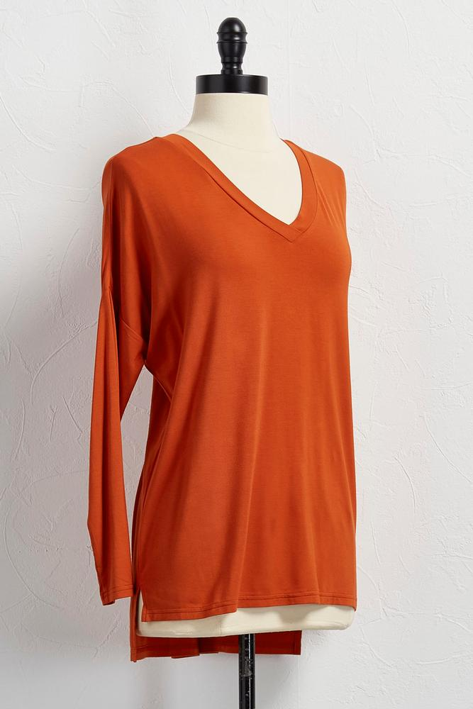 Bamboo V- Neck Top