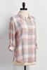 Soft Plaid Button Down Shirt