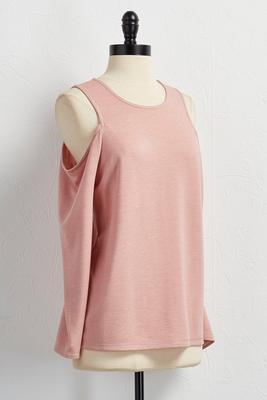 bare shoulder tunic