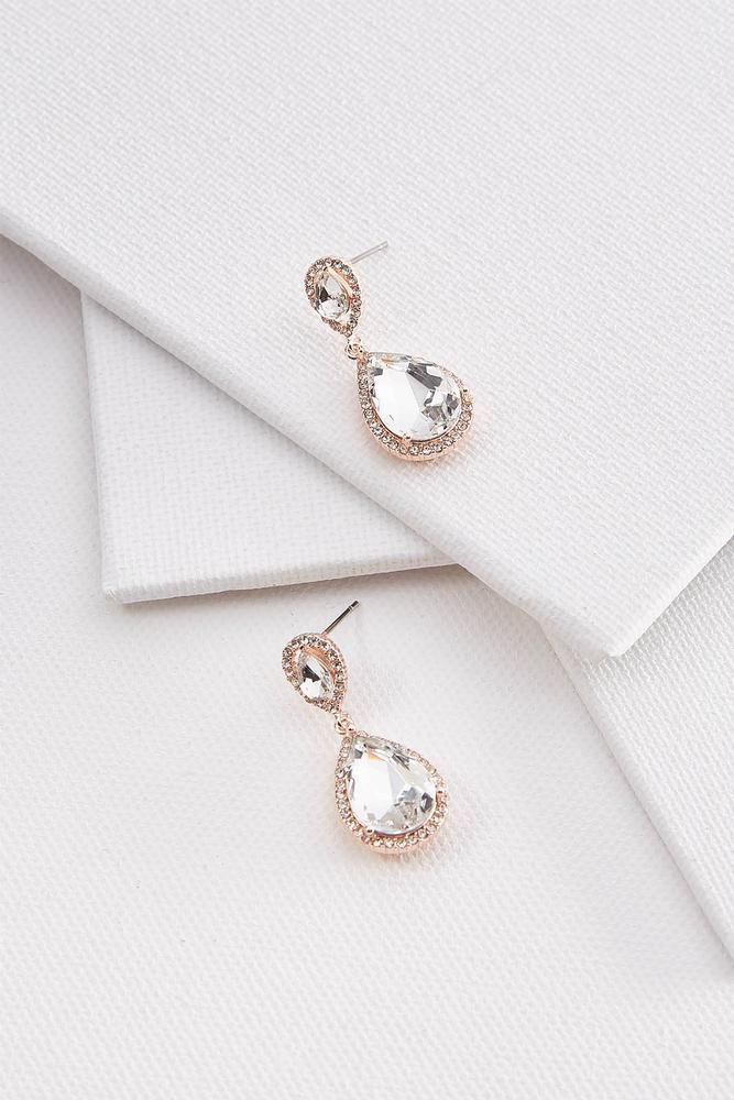 Pave Dangle Earrings