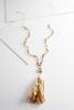 Tasseled Crystal Necklace