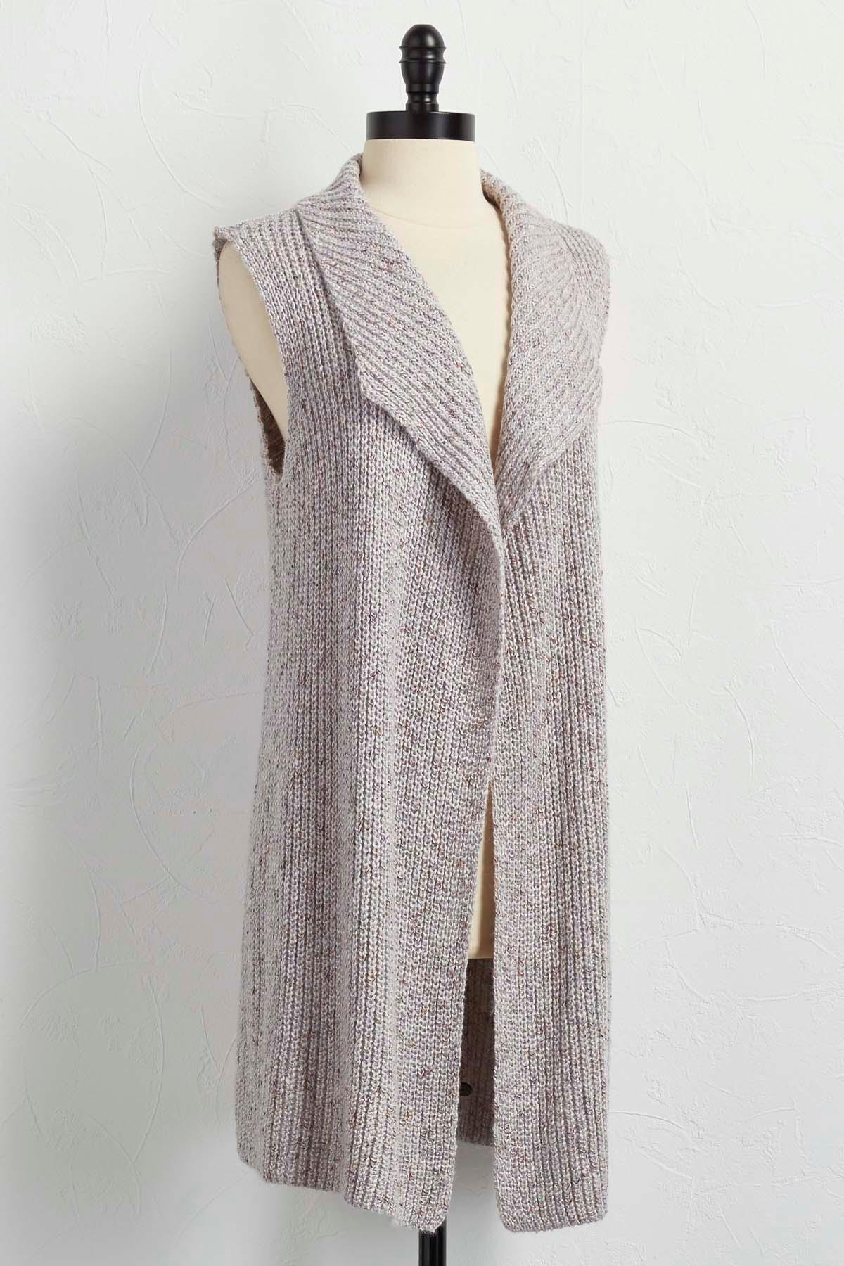 Versona | draped sweater vest