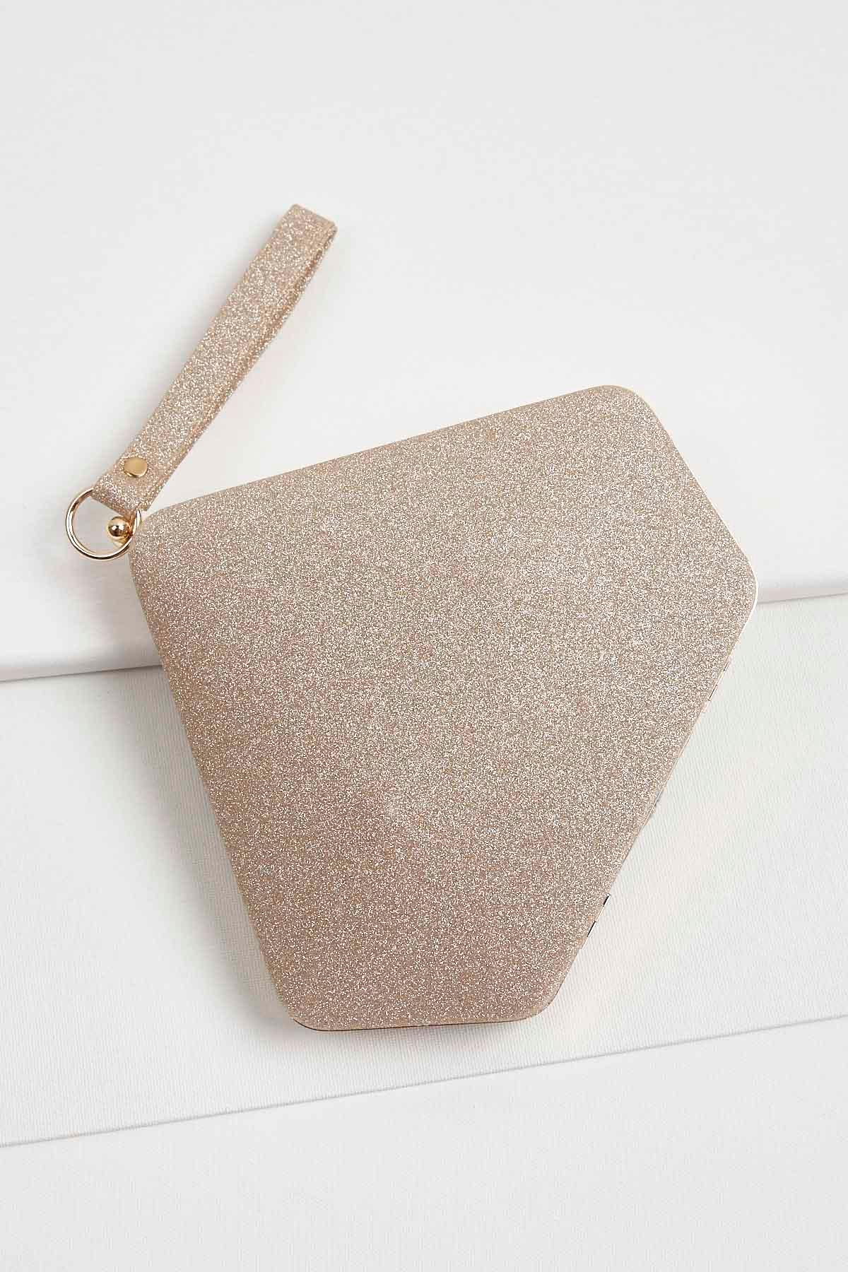 Glitter Fortune Cookie Wristlet
