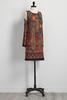 Mixed Print Bare Shoulder Dress