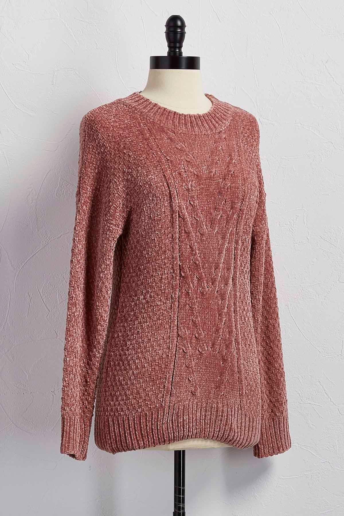 Soft, warm and so chic. Wear it over a tee and denim, this is the sweater of the season. 30