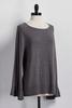 Flare Sleeve Sweater Tunic