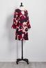 Floral Cutout Shift Dress