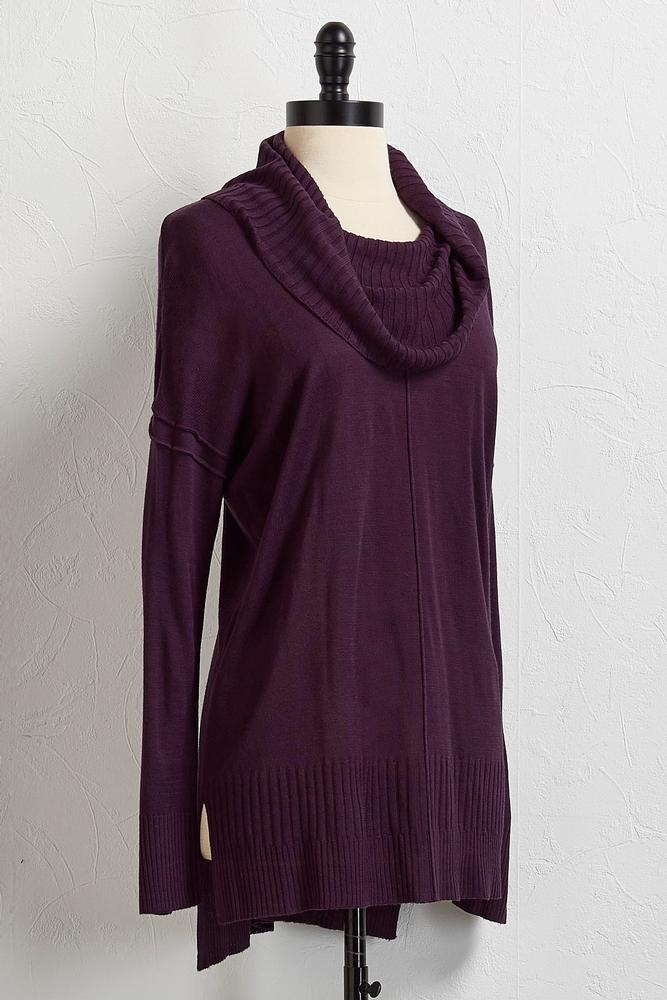 Versona | cowl neck tunic sweater