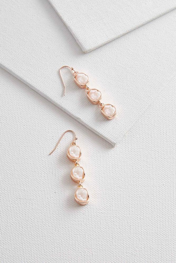 druzy dangle earrings s