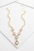 Pave Statement Y- Necklace