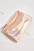 Rose Gold Hologram Clutch