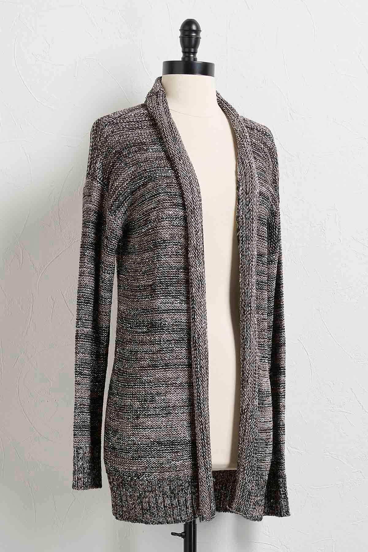 Versona | space dye sequin cardigan