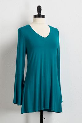 flare sleeve tunic