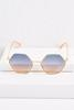 Hexagon Metal Sunglasses