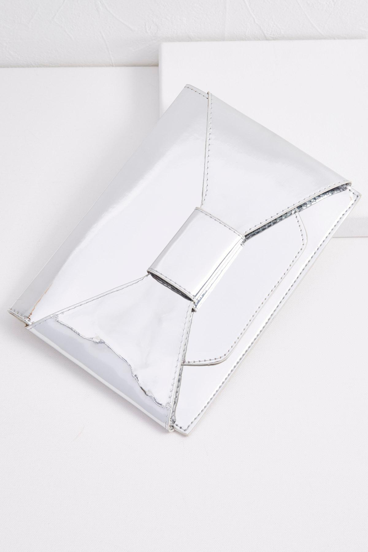 Flat Bow Metallic Clutch