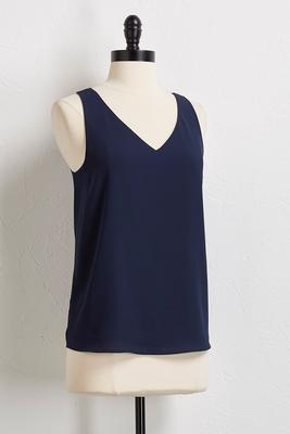 lattice back layered tank