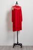 Lace Bare Shoulder Dress