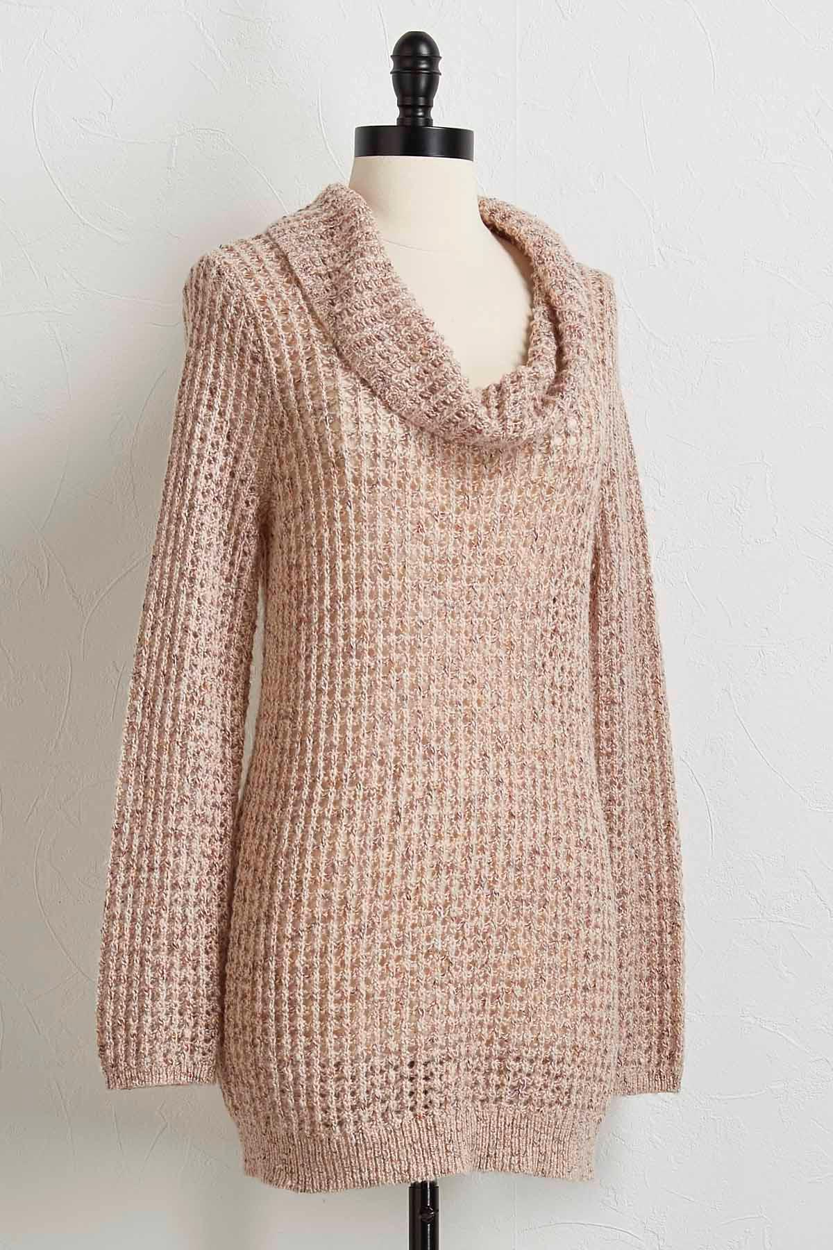 Versona | cowl neck tunic sweater
