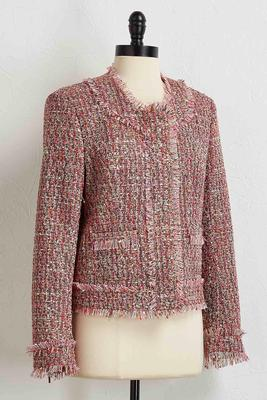 bouquet tweed jacket