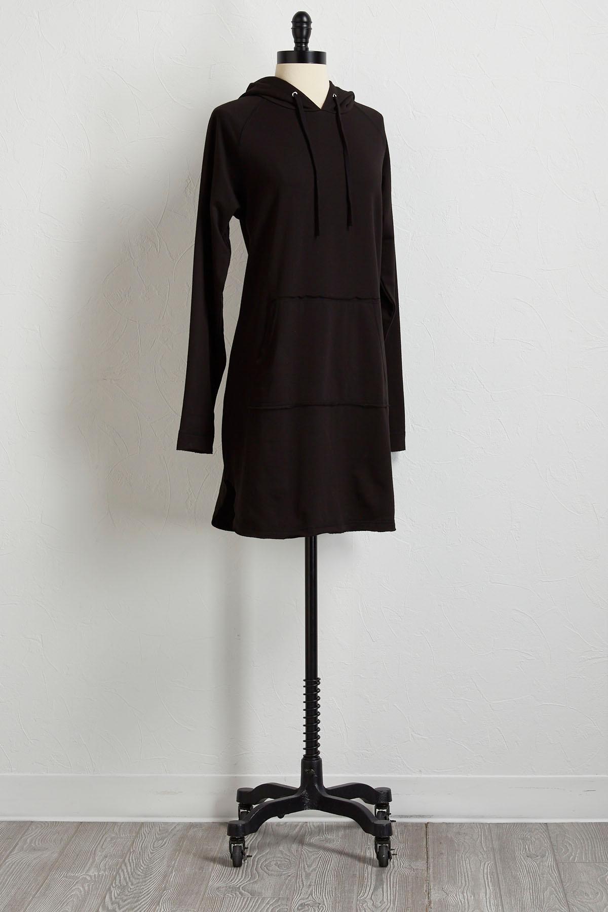 Sweatshirt Hooded Dress
