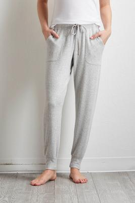 brushed hacci jogger